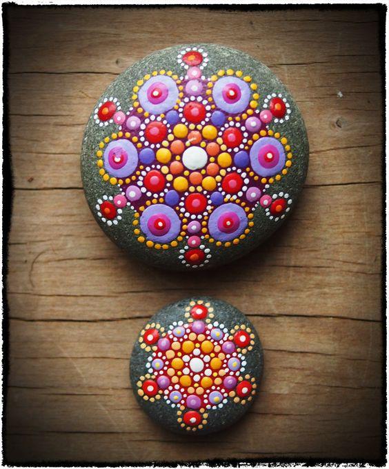 kavicsfestés dekoráció DIY csináld magad festés