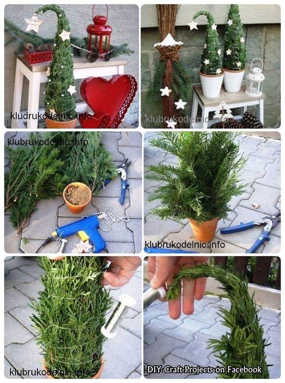 karácsony grincsfa manófa DIY