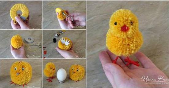húsvét húsvéti dekoráció húsvéti pipi pompon