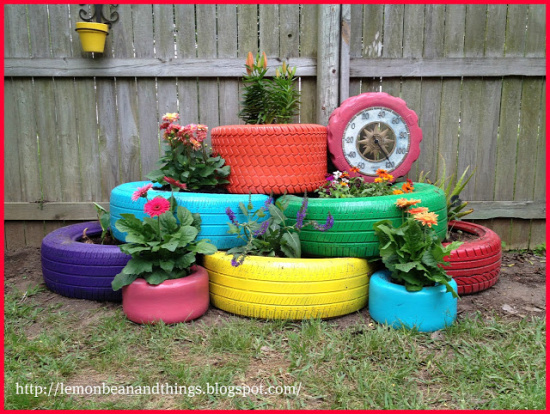 40+ Creative DIY Garden Containers and Planters from Recycled Materials 1_2