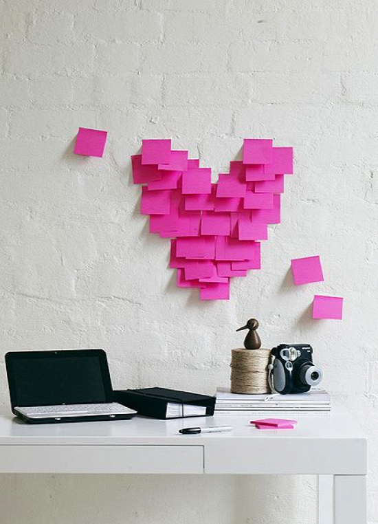 A little Post It love note