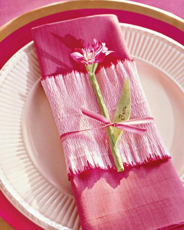 Crepe-Paper Amaryllis