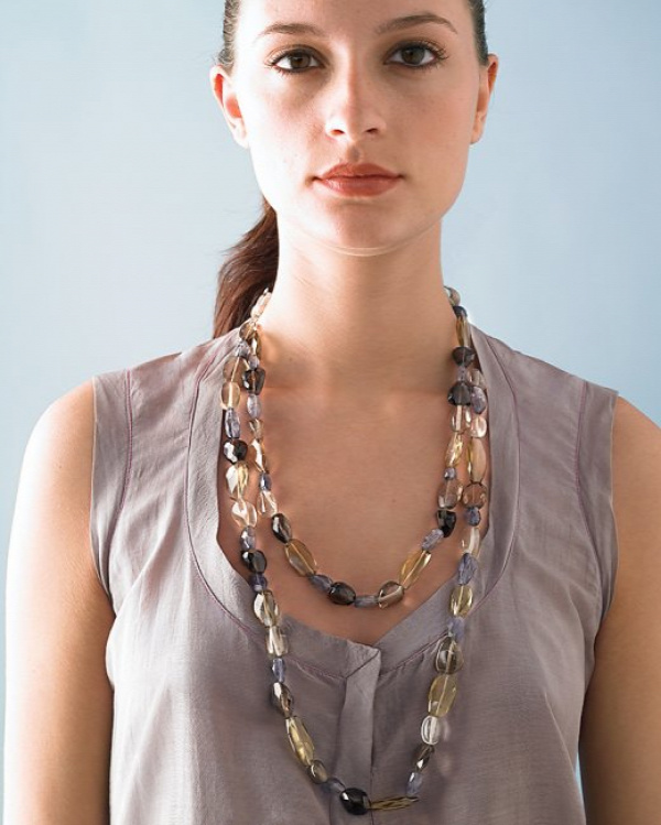 Semiprecious Stone Necklace