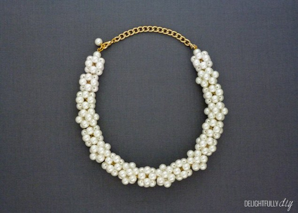 J.Crew Inspired Pearl Necklace