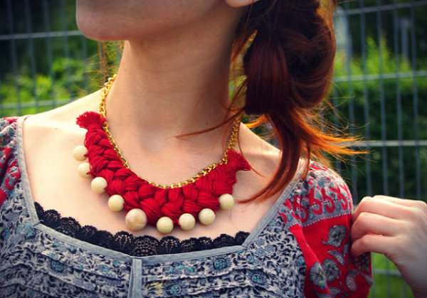 Folkloric Braid Necklace