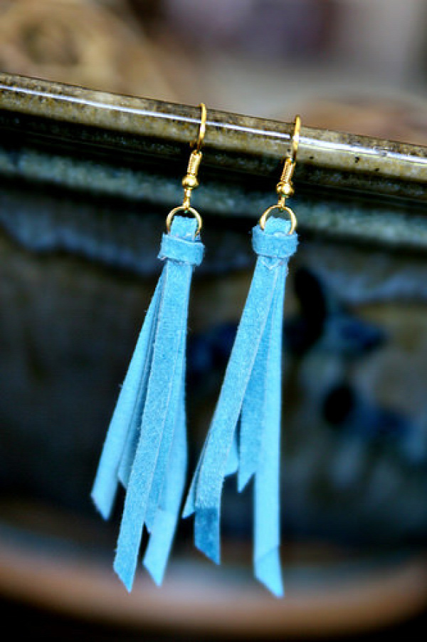 Anthro Knockoff Tassel Earrings