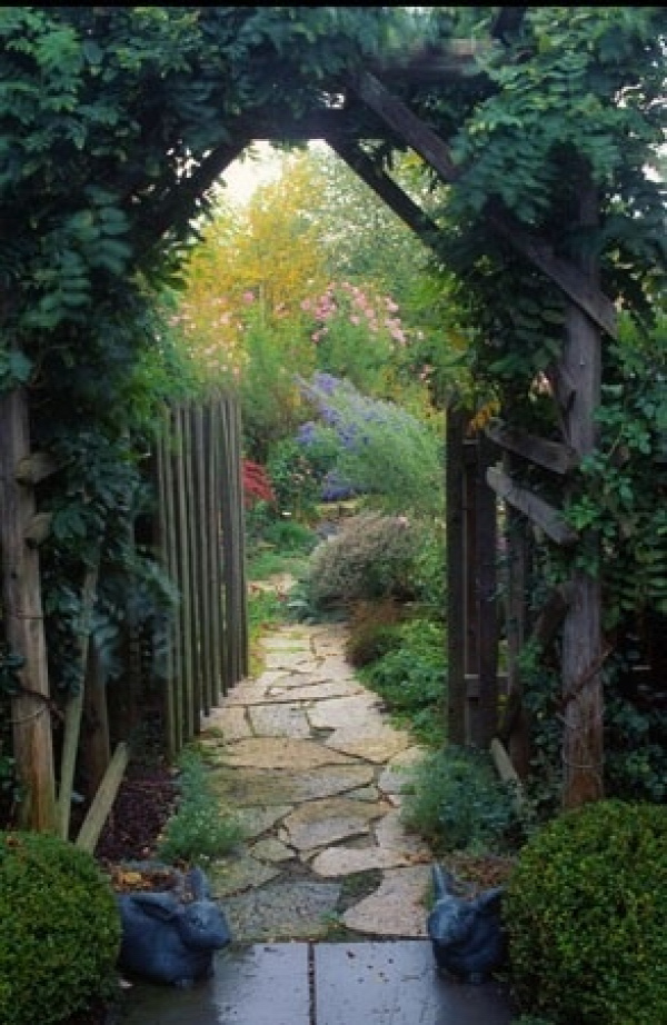 Secret Garden        _________                           ~garden pathway ~by pauline