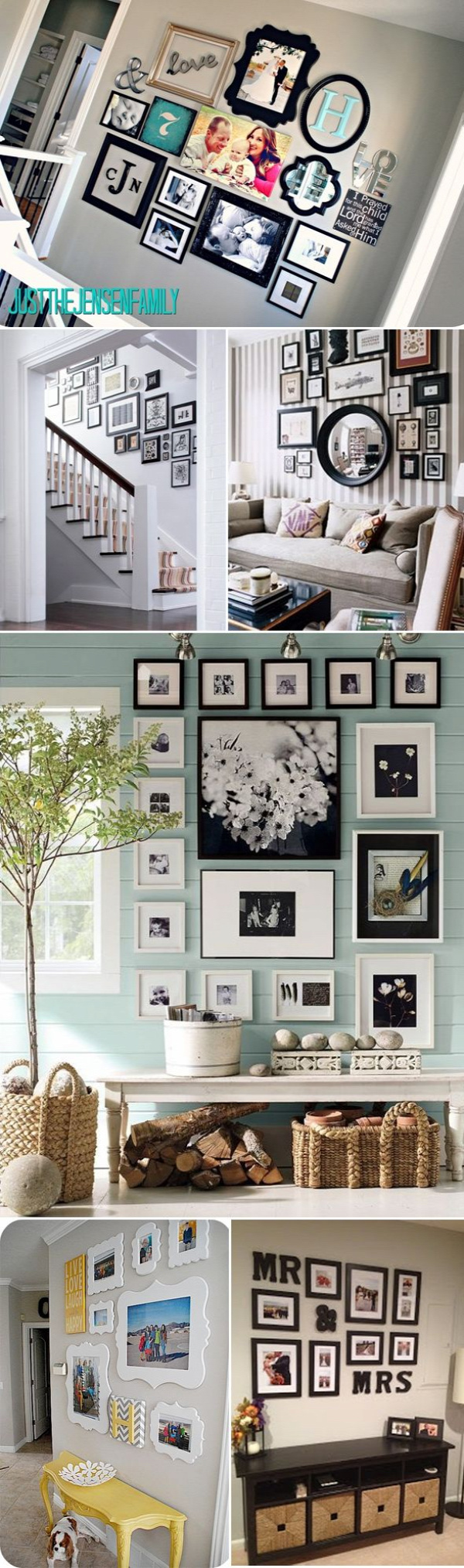 family photos gallery wall ideas