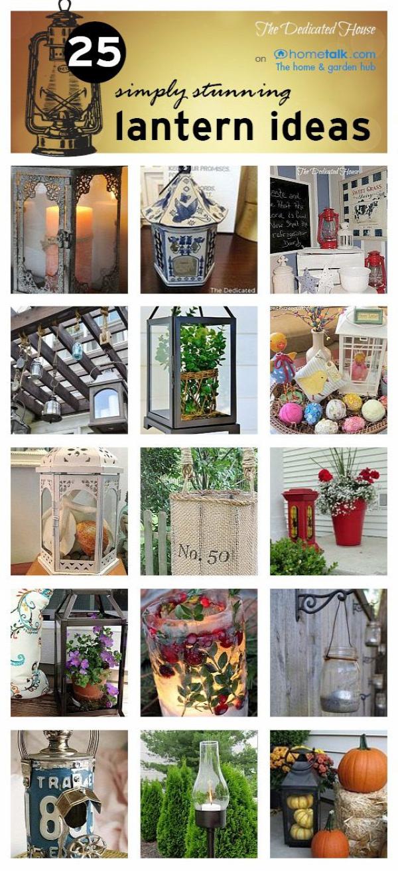 The Dedicated House: 25 Simply Stunning Lantern Ideas