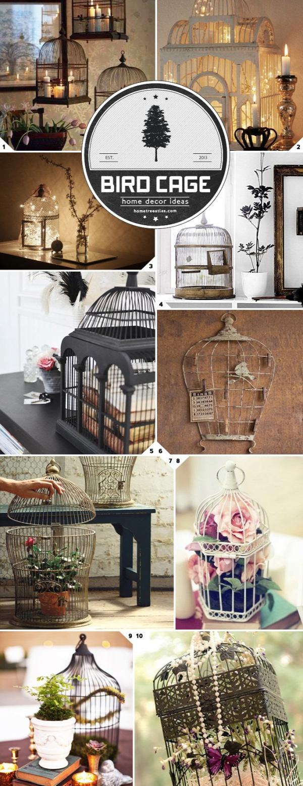 There is something special about adding a bird cage into the decor mix of a room. I'm not sure what it is yet, maybe it is the informal bohemian vibe, the Victorian feel, or what it represents? Either way, here are some fancy bird cage decor ideas to use at home. Light and Flight One […]