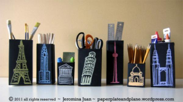 Juice-carton-crafts