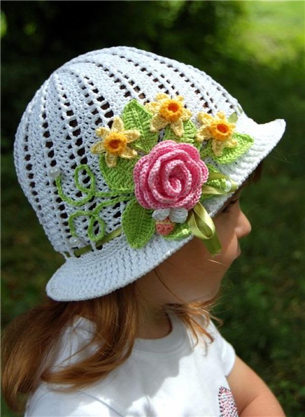 Fab Art DIY Crochet Summer Sun Hat Free Pattern11
