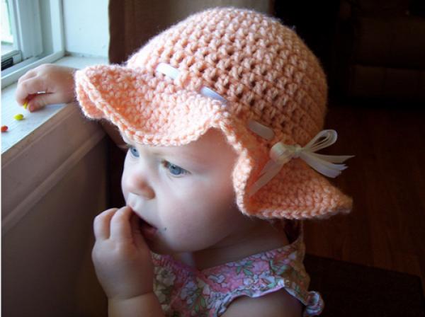 Crochet Summer Sun Hat Free Pattern
