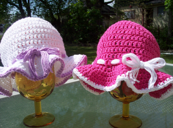 Crochet Summer Sun Hat Free Pattern