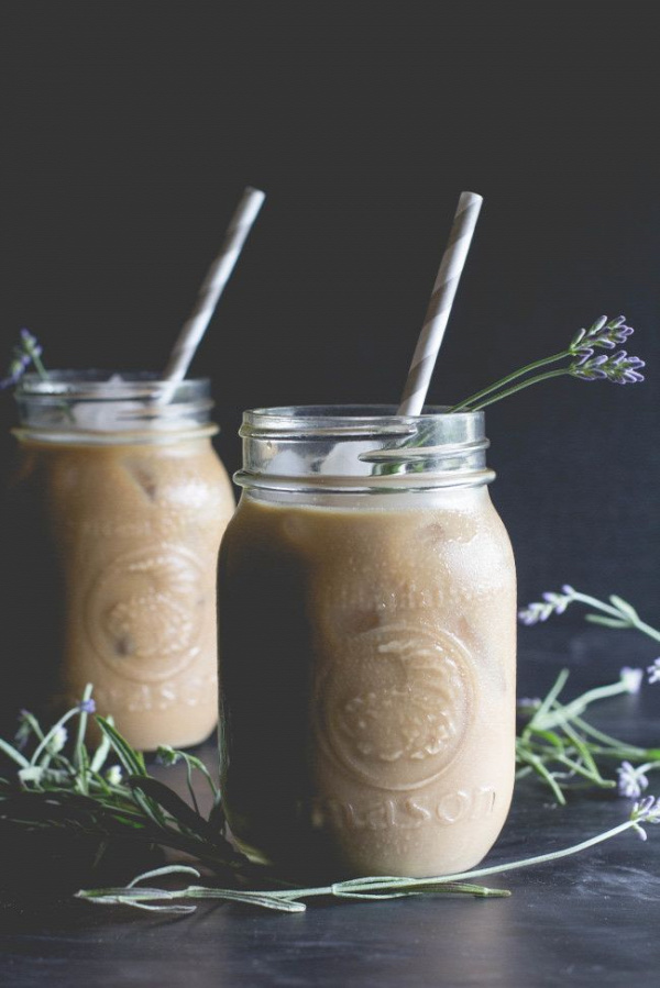 Lavender-Honey Iced Latte - offbeat + inspired-4