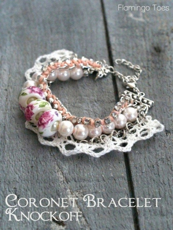 Lace, Beads, and Rhinestones