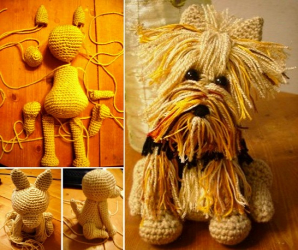 How to Make Yorkie Terrier Crochet Tutorial