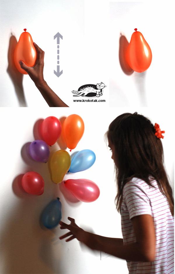 Nyári kísérlet smal ballonok