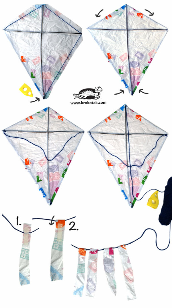 DIY city kite