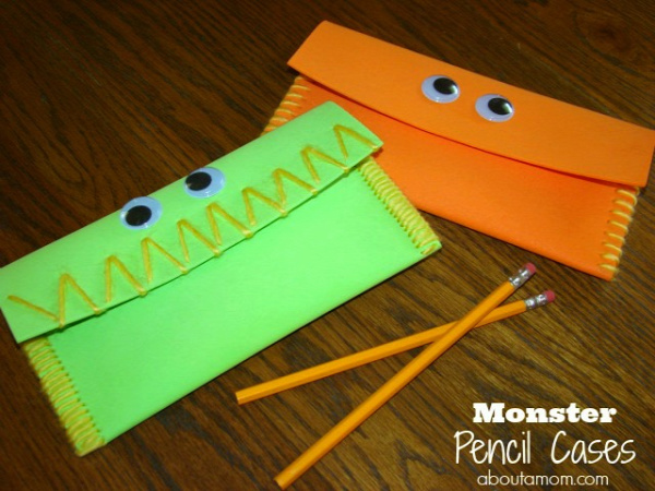 Monster-Pencil-Cases