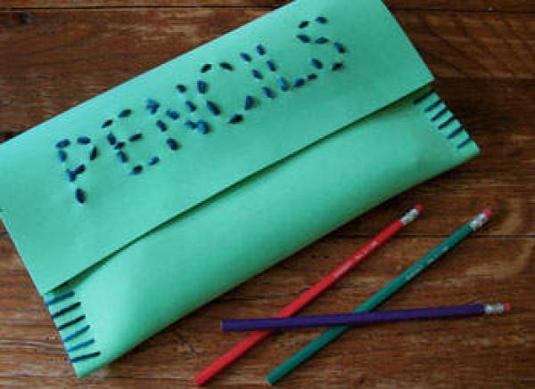 Craft Foam Pencil Case
