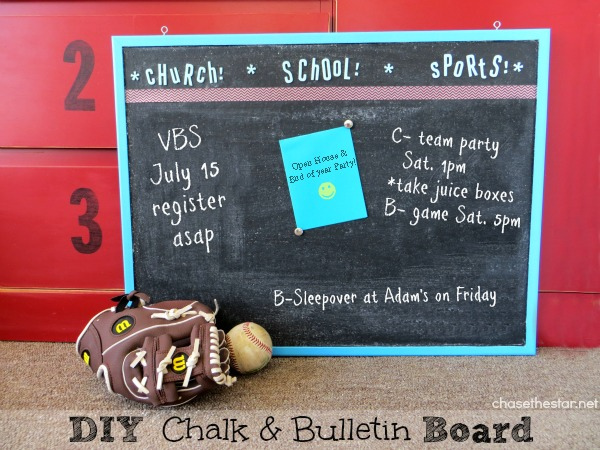 DIY-Chalk-Bulletin-Board
