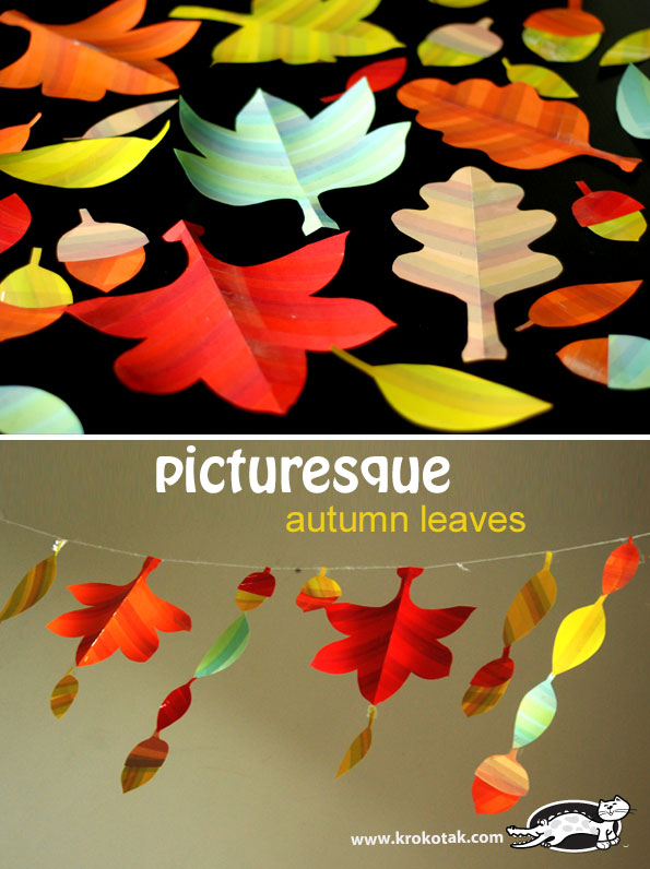 Picturesque Autumn Leaves
