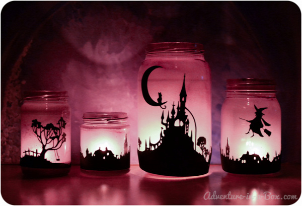 Enchanting Halloween Lanterns: Turn Mason Jars into Lanterns and Explore Light with Children