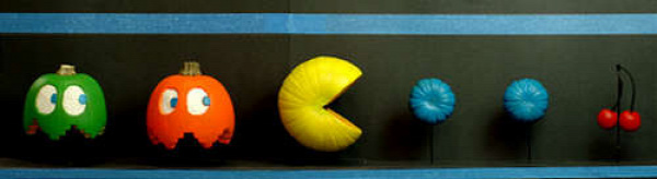 Or if they're Pac-Man-inspired.