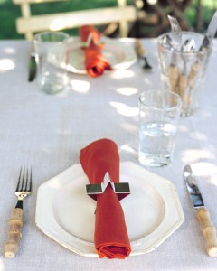 Cookie-Cutter Napkin Rings