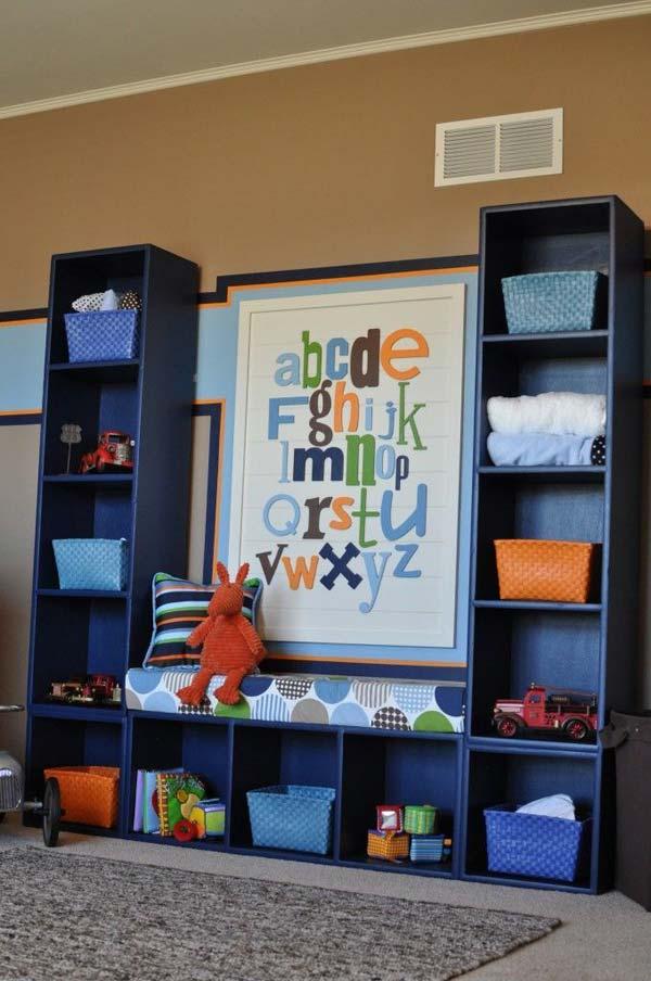 pritt gyermekszoba tárolás rendszerezés