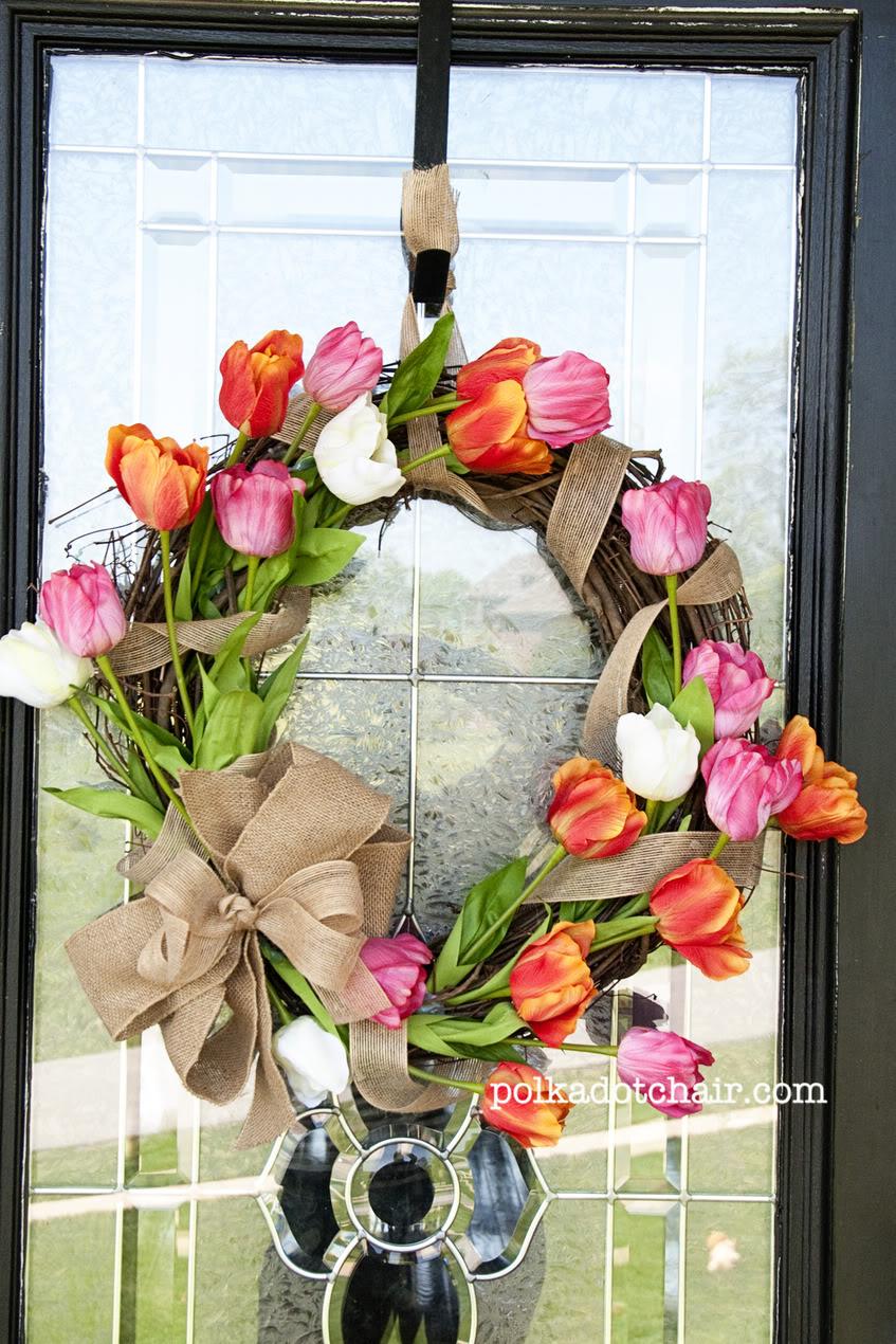 tavasz ajtódísz koszorú tavaszi ajtódísz koszorúkészítés