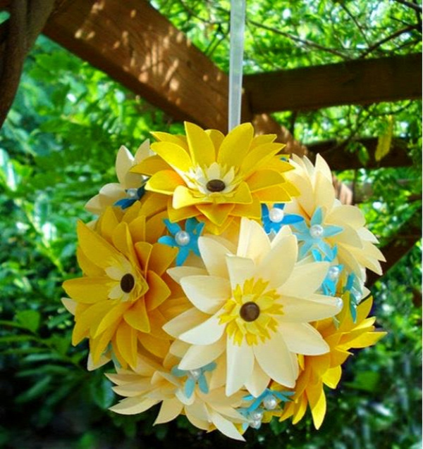 papír virág papírvirág pritt