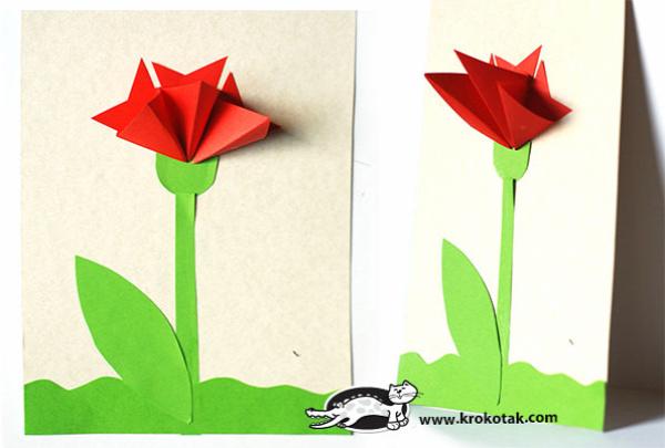 pritt tavasz papírdísz hajtogatás vágás ragasztás
