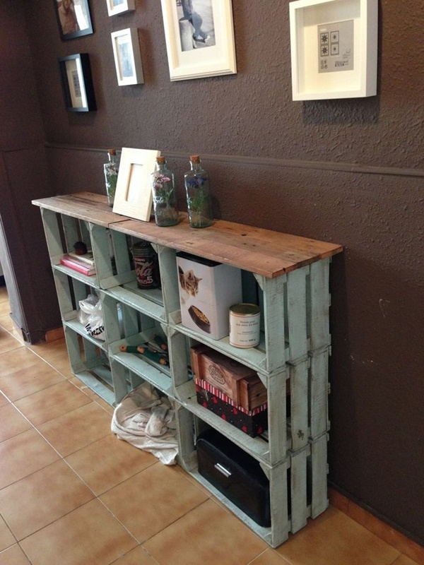 láda lakberendezés újrahasznosítás bútorátalakítás