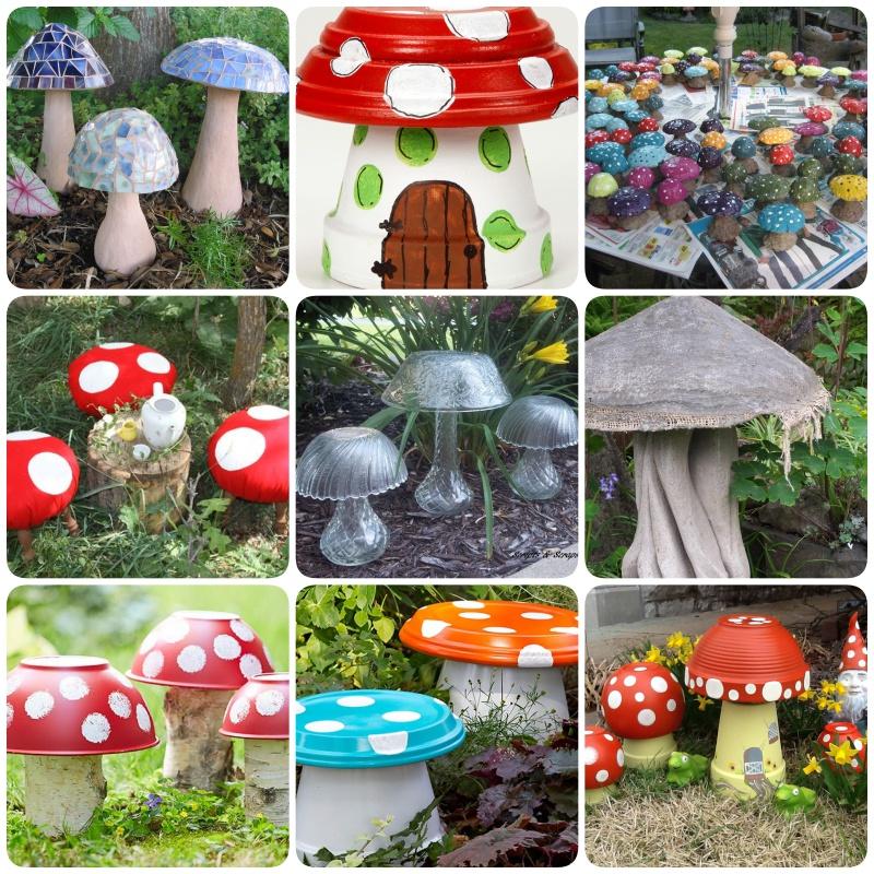 A legkreatívabb kerti gombák - Színes Ötletek