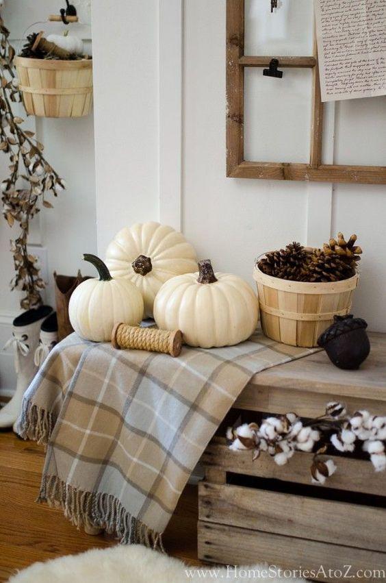 ősz lakásdekoráció