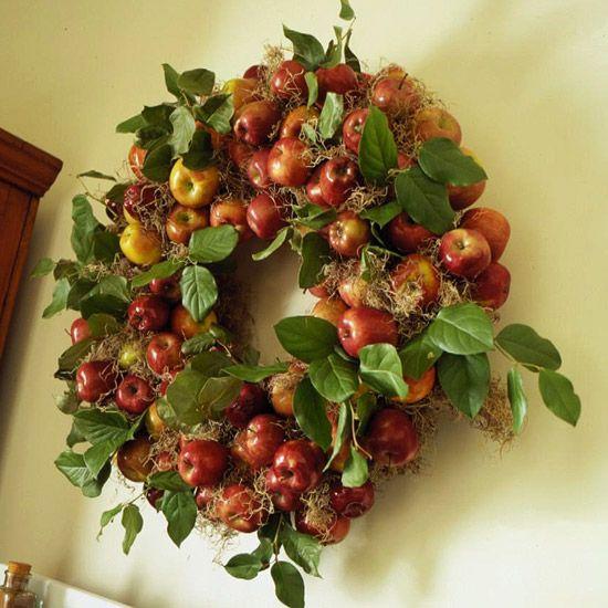 ősz ajtódísz koszorú dekoráció