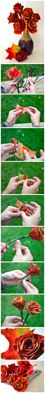 ősz falevél koszorú
