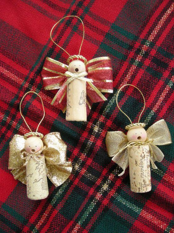 karácsony dísz karácsonyi dísz parafa dugó