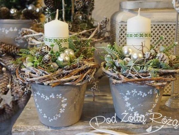 advent adventi koszorú karácsony tél DIY csináld magad