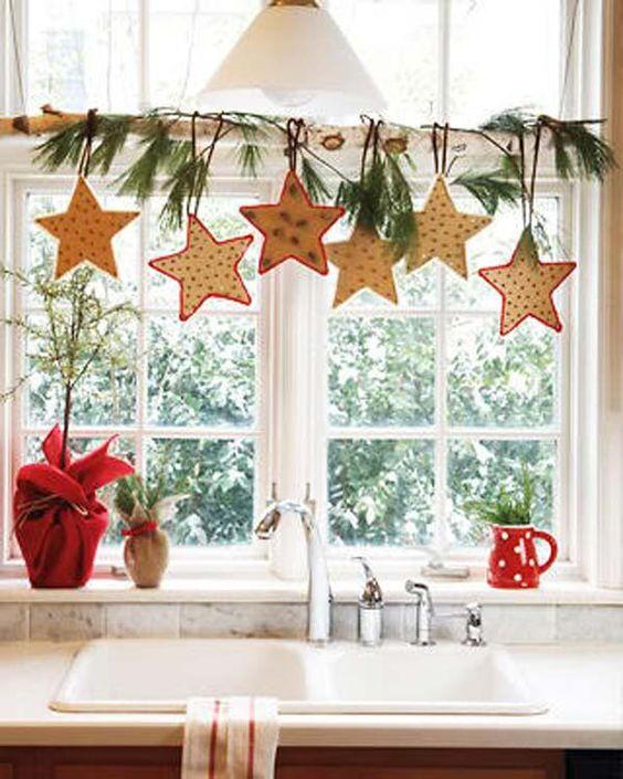 karácsony ablakdísz