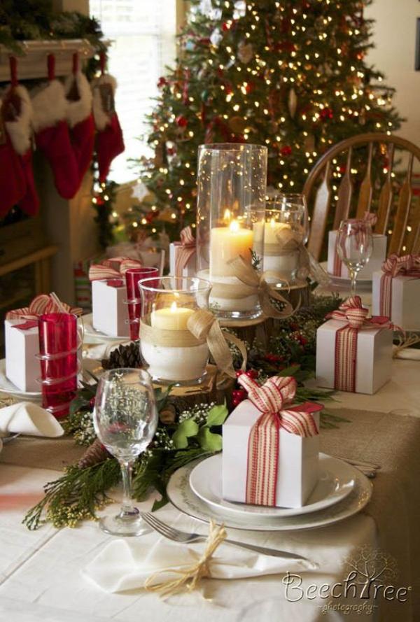 karácsony teríték