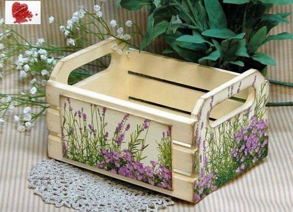 lakberendezés láda zöldséges láda újrahasznosítás