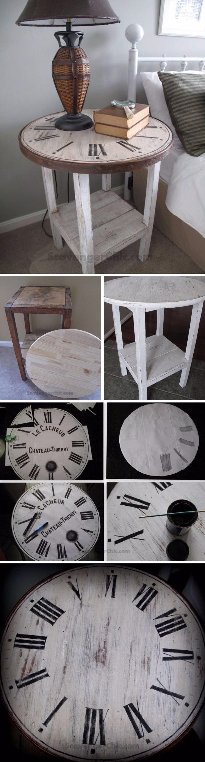 bútorfestés DIY