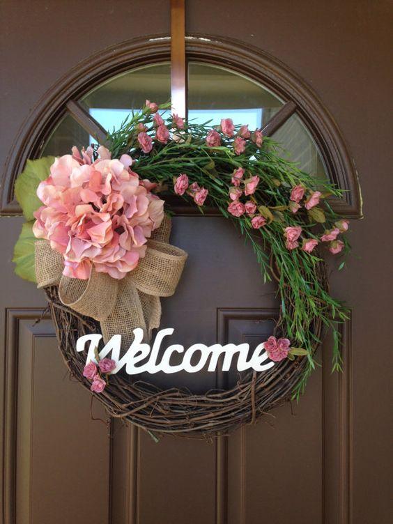 ajtódísz tavasz tavaszi ajtódísz tavaszi dekoráció