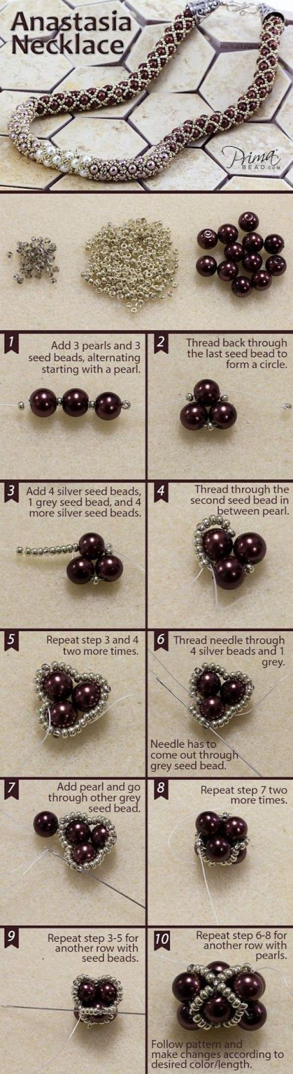 gyöngyfűzés gyöngyékszer
