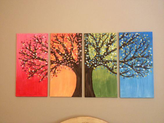 festés négy évszak