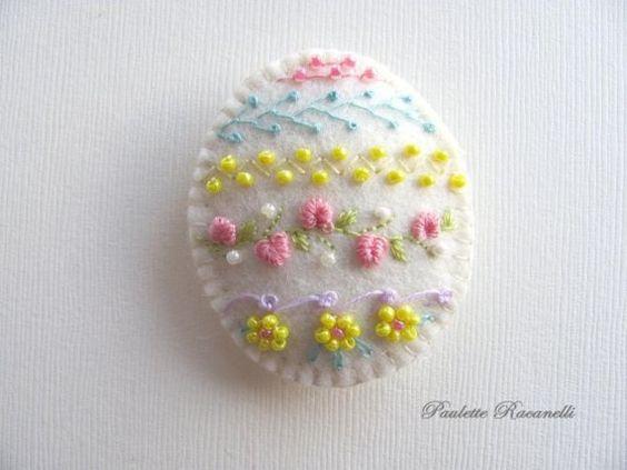 húsvét filcanyag filcdísz húsvéti dísz