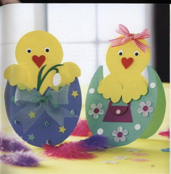 húsvét papírdísz